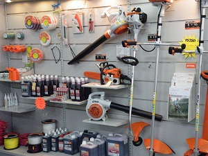 our STIHL products stand
