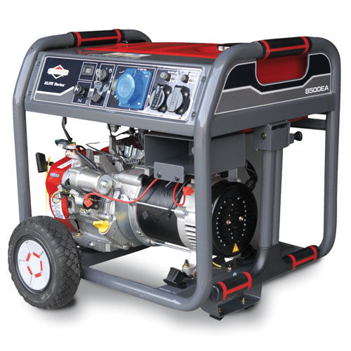 Elite 8500EA portable generator - Kloof Lawnmower Centre