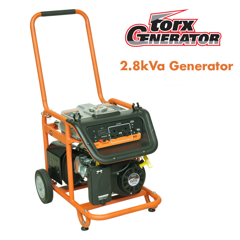 Tandem Torx 2.8kVA generator