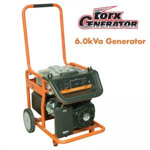 Tandem Torx 6.0kVA generator