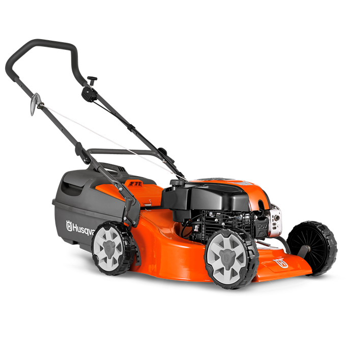 LC 19 steel push mulch mower
