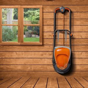 Flymo Hover Vac 250 store on the wall