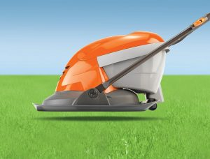 Flymo Hover Vac 250 hovering