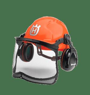Husqvarna helmet earmuff visor Forest Classic